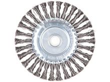 Щетка дисковая косич.180ммх22мм GEPARD (GP0880-180)